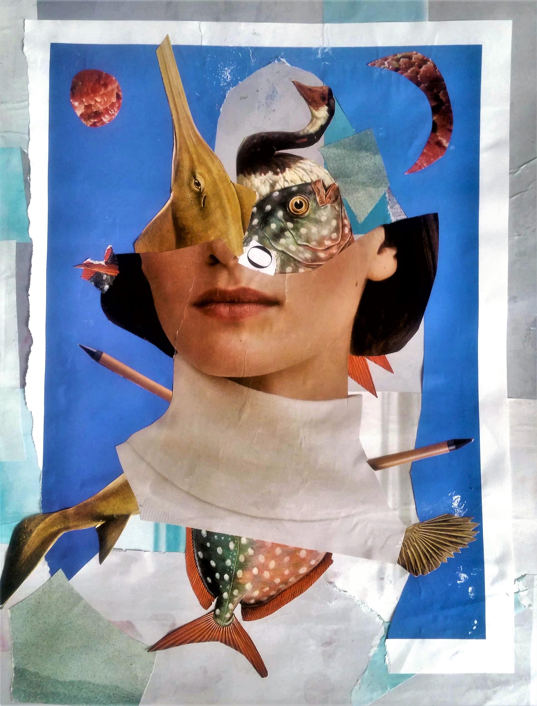 """Série """"DescendênciaS, DissidênciaS"""" (colagens / collage art)"""